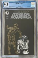 Star Wars Droids #1 CGC 9.8 | BLACK EMBOSSED COVER R2-D2 C3PO | Dark Horse 1994