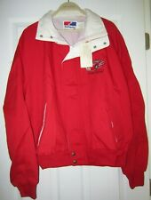 Nascar Driver Bill Elliott #11 Budweiser Red Zippered Jacket (New w/ tag) XL