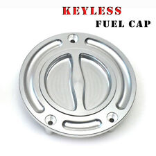 For Yamaha YZF R6 R1 MT-03 FZ8 FZ1 Fazer Billet CNC Keyless Fuel Gas Tank Cap