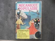 Magazine Mécanique Populaire n° 93 - Février 1954