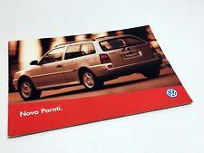 1996 Volkswagen Parati Brochure - Brazil