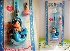 PICHI PICHI PITCH Mermaid Melody HANON FIGURE key chain TAKARA with URANAI CARD