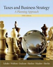 Taxes & Business Strategy 5e Global Edition