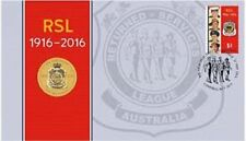 2016  PNC  FDC Australia RSL 1916-2016  Limited Edition of 7,500