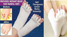 Orthotic Support Foot Alignment Walk Right Toe Socks Bunions, Cramps, Hammer Toe