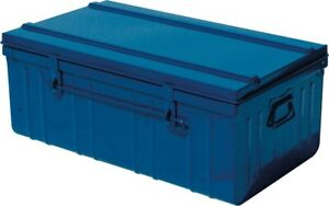 Cantine métal laquée - Longueur 800 mm - Bleu