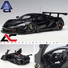 AUTOART 81644 1:18 McLAREN 650S GT3 (GLOSS BLACK/MATT BLACK ACCENTS) SUPERCAR