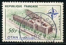 stamp / TIMBRE FRANCE OBLITERE N° 1228 PALAIS DE L'O.T.A.N PORTE DAUPHINE
