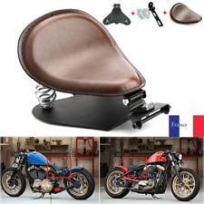 Moto Solo Selle Siège Ressorts Support Pr Harley Sportster Bobber Chopper Brown