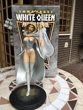 BOWEN - MARVEL - X MEN - EMMA FROST WHITE QUEEN STATUE - RETRO VERSION