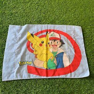 Vintage 1998 Pokemon Pikachu Pillow Case