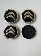 Citroen 4x COPRIMOZZI 60mm Set di Ruote Tappi con Logos Ruota Tappi Cerchi