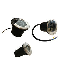 LED BODENSTRAHLER 1W 3W 5W 10W  230V Bodenleuchte Bodeneinbaustrahler Lampe SPOT