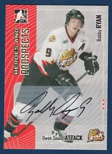 OWEN SOUND 05-06 IN THE GAME HEROES AND PROSPECTS 2005-06 AUTOGRAPH NRMNT+ 15921