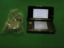 Nintendo 3DS Cosmo Black With Memory Card Console Handheld Very Good 8808