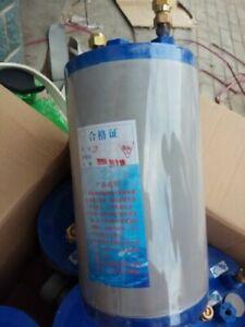 Titanium barrel heat exchanger 1.0HP seafood tank fish tank titanium drum evap