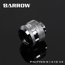 "Barrow G1/4"" Silver Compression Fitting For 14mm Rigid Tubing - 160"