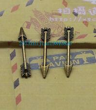 30pcs Antique silver/bronze alloy lovely mini delicate arrow Charm pendant