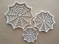 Spider Web Insect Creepy Shape Cookie Cutter Dough Biscuit Pastry Fondant Sharp