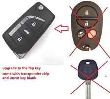 completed flip remote key for Toyota aurion  2006-2011 433mhz