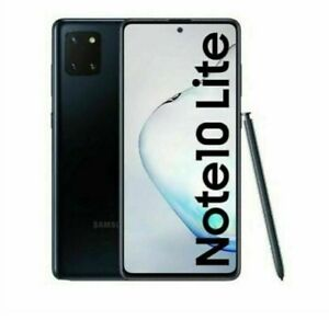 Samsung Galaxy Note 10 Lite Black Unlocked Dual SIM