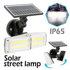 42 LED Solar Powered PIR Motion Outdoor Garden Light Security Flood Wall Lamp