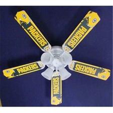 Ceiling Fan Designers 52Fan-Nfl-Grb Nfl Green Bay Packers Football Ceiling Fa.