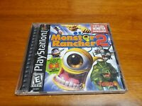 Monster Rancher 2 (Sony Playstation) PS1 Complete CIB TESTED