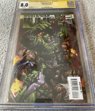 World War Hulk #2 of 5, Sept 2007, CGC 8.0, Cover signed by writer Greg Pak