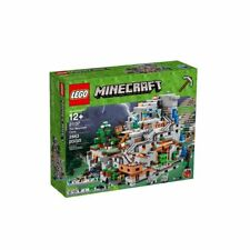 NEW LEGO MINECRAFT 21137 THE MOUNTAIN CAVE TRUSTED U.S. SELLER FREE SHIPPING