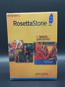 Rosetta Stone German Totale Levels 1, 2, 3, 4, & 5 Version 4 Win/Mac Sealed New