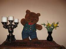 Vintage 70s German Brown Teddy Father Bear 18 inch