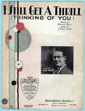 I STILL GET A THRILL THINKING OF YOU by DAVIS & COOTS w/ BOB WEST (1930)
