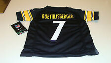NFL Jersey Pittsburgh Steelers Ben Roethlisberger Football Age 2T Toddler