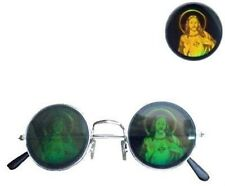 1 PAIR JESUS HOLOGRAM SUNGLASSES eyewear 3d religious funny costume glasses