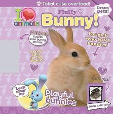 I Love Animals Fluffy Bunny + Buster Bunny Charm ages 3+ (Spiral bound, 2010)