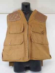 vintage Gerald Henderson The Complete Pointer Duck Canvas Upland Hunting Vest XL