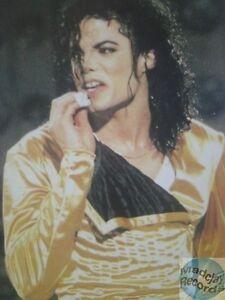 Michael Jackson Carte Postale Postcard Postkarte 801