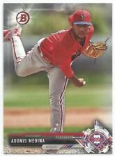 Adonis Medina Philadelphia Phillies 2017 Bowman Draft Baseball