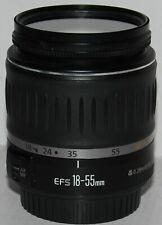 Canon EF - 18-55mm f/3.5-5.6 Lente USM S En Excelentes Condiciones + Filtro