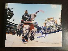 Henrik Lundqvist Signed 11x14 Photo New York Rangers