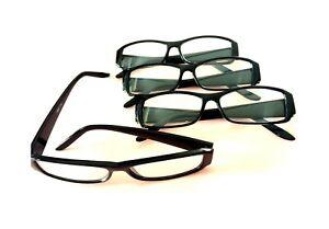 4x Lesebrille Brillen Lesehilfe Brille Schwarz Lesebrillen Sehhilfe  (6)