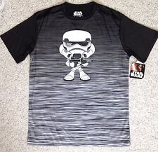Dry Fit Slick Polyester STAR WARS MINI STORMTROOPER TEE Chibi Lego S/M SEE SIZE