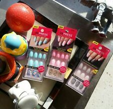 imPRESS press on nailart  manicure bundle in 3 colorful styles (Spring colors)