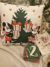Primark home Disney Mickey Minnie Mouse Countdown to Christmas Cushion Pillow