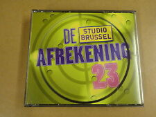 2-CD BOX STUDIO BRUSSEL / DE AFREKENING 23