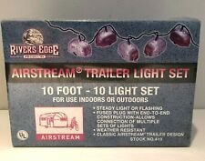 Rivers Edge #419 Airstream Trailer 10 Light Set 10' Indoor Outdoor New Sealed