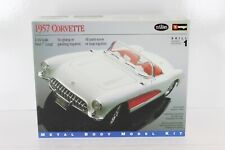 TESTORS DIE-CAST METAL KIT 1/24 1957 CORVETTE COD.166 BURAGO