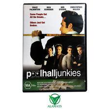 Poolhall Junkies (DVD) Ricky Schroder - Rod Steiger - Drama Thriller - Reg 4 OOP