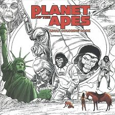 Planet of the Apes Adult Coloring Book, Paperback by Magno, Carlos (Ilt), Bra.
